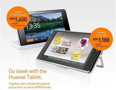 Hp Huawei Ideos S7 Slim u mobile offer 7 huawei ideos tablets with broadband combo soyacincau