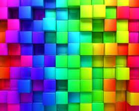 free coloured cubes backgrounds for powerpoint 3d ppt