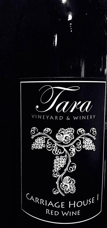 carriage house wines carriage house i tara winery athens texas