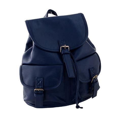 pu backpack bag vintage pu leather backpack bookbags satchel