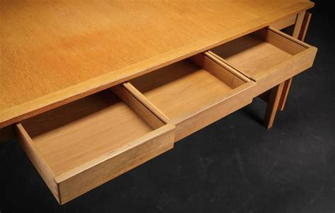 dining table with drawers oak desk or dining table with drawers and leaves at