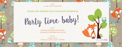 baby fullmoon invitation card free template free baby shower invitations evite