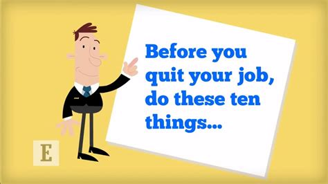 Who Quit by Before You Quit Your Do These 10 Things