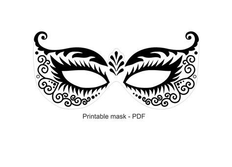 printable mask masquerade masks paper mask instant