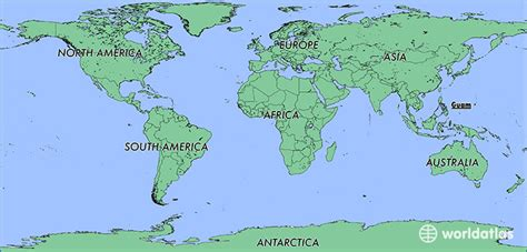 where is guam on the world map where is guam where is guam located in the world