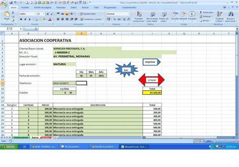 plantilla de nmina para rellenar en excel plantilla de factura en excel para pyme automatica lvbp1