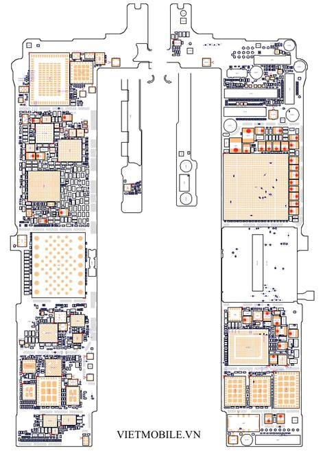 Iphone Pcb Layout | free download iphone 6s plus schematic diagram pcb layout