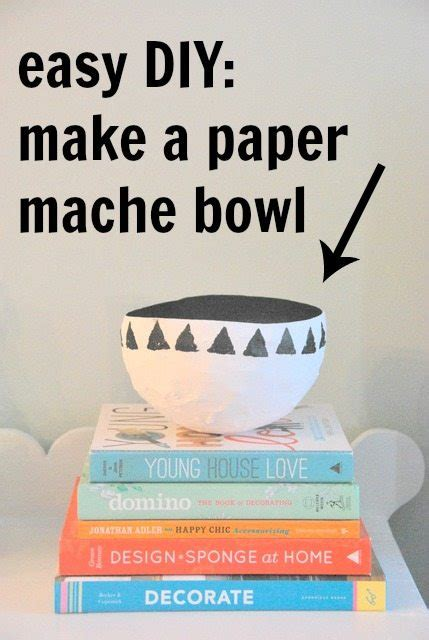 How To Make Paper Mache Out Of Flour - a craft basic a paper mache bowl the sweetest digs