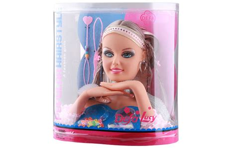 hair and makeup doll head toy makeup doll head for kids hair styling head model doll