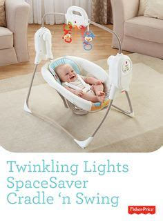 fisher price twinkling lights spacesaver cradle n swing for my baby on pinterest baby grows tummy time and learning