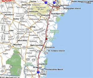 coastal map coastal ga maps