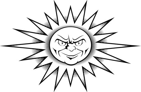 tattoo designs printable worksheet of a sun design printable coloring point
