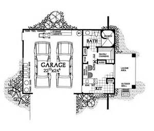 Floor Plans With Garage by Garage Plan Chp 22281 At Coolhouseplans Com