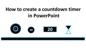 powerpoint countdown timer template how to create a countdown timer in powerpoint tekhnologic