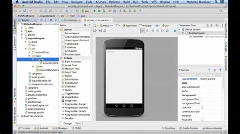 andengine tutorial android studio usando andengine con android studio youtube