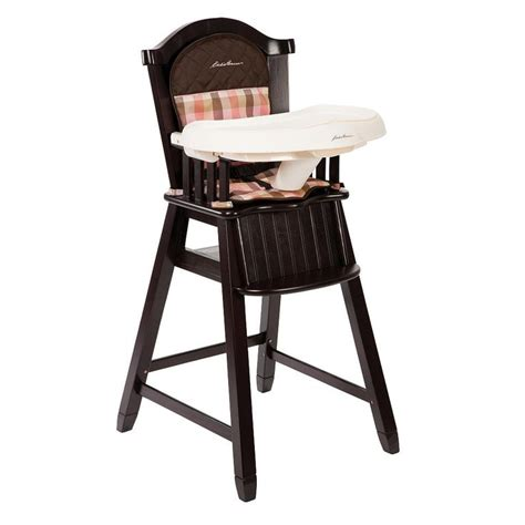 eddie bauer wood high chair harmony