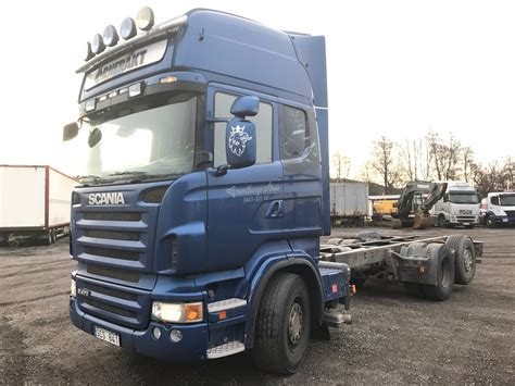 used scania r 470 cab chassis year 2007 price 11 186