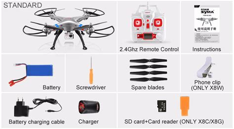 Syma Rc Quadcopter X8g Fpv Real Time 4ch 24ghz With 5mp Hd syma x8c x8w x8g 2 4g 4ch 6 axis professional fpv rc drone with 8mp hd quadcopter wifi