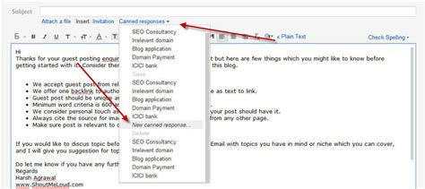 How To Create Gmail Email Template And Why How To Create A Template Email In Gmail