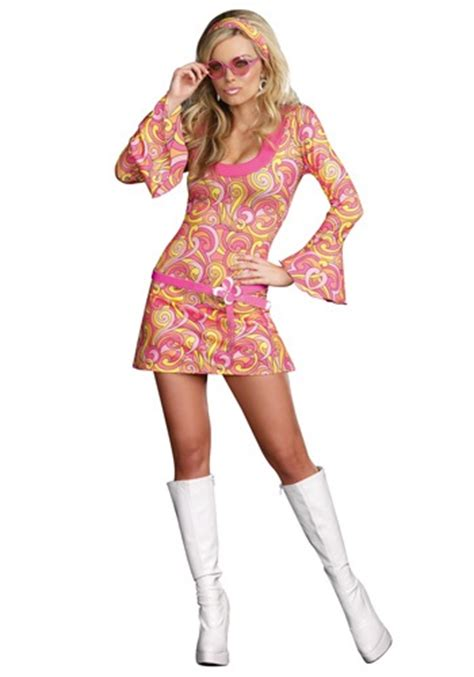 swinging 60s costume swinging 60s dancer costume sexy hippie costume dress