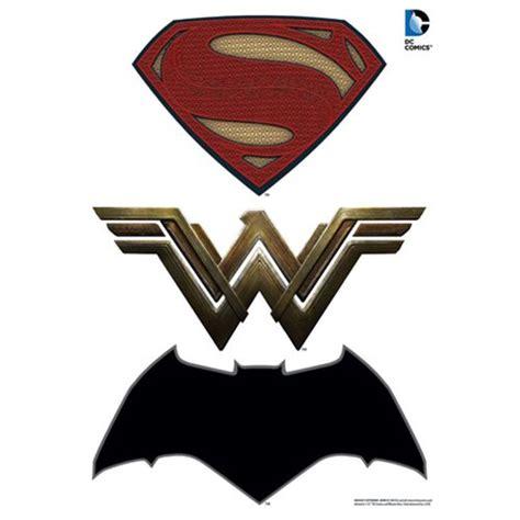 Batman Wall Sticker batman v superman dawn of justice logos car graphics set