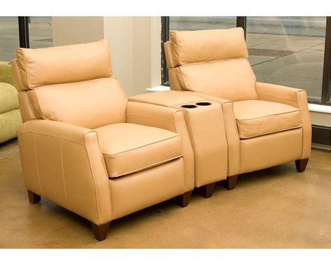 leather home theater sofa made home theater seating leather recliners