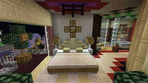 Minecraft Bedroom Set by Minecraft Furniture Bedroom A Large Bed With Unique