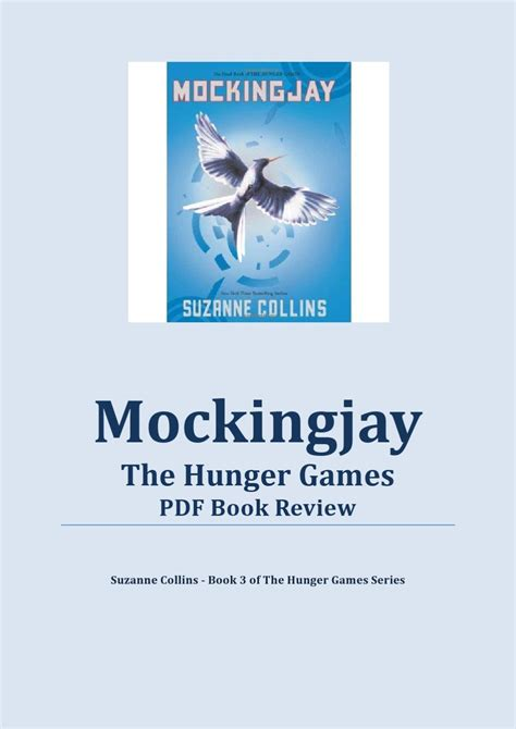 hunger mockingjay book report mockingjay pdf the hunger pdf book review