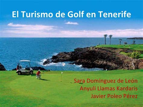 el tur el turismo de golf en tenerife
