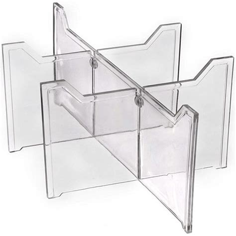 these clear plastic drawer dividers are a great solution