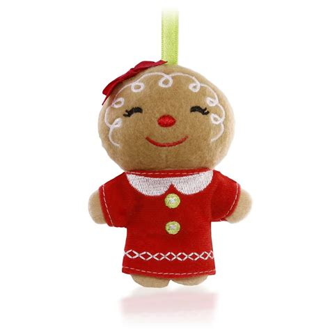 2015 plush ginger girl hallmark keepsake ornament