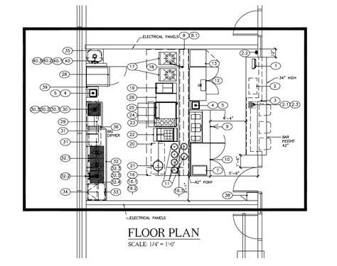cafe kiosk layout plans brick and mortar constructing a restaurant space ramen