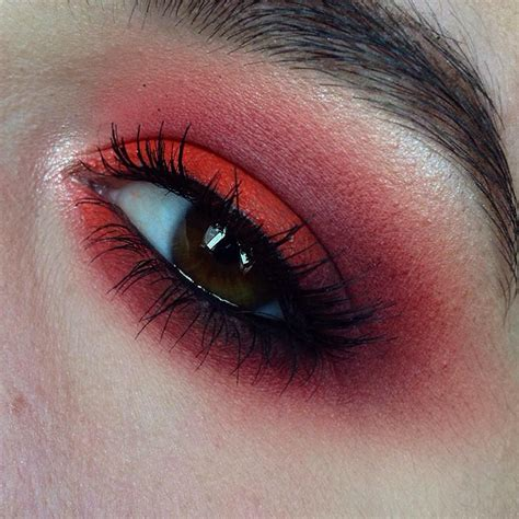 rachel coffey makeup portfolio red smokey eye