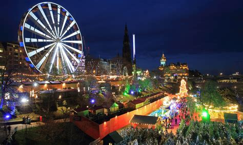 edinburgh christmas markets break newmarket holidays