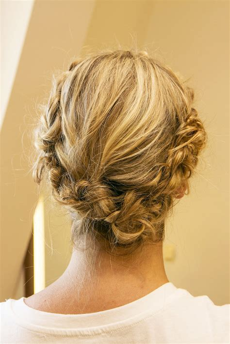 easy braids to do on yourself the final look is a crown of braids that s easy to do