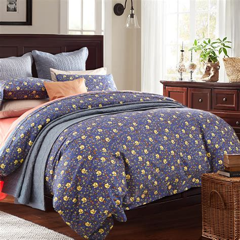 Size Quilts On Sale Sale Garden Autumn 100 Cotton Bedding Set