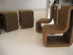 thonet s vouwwow vw01 is a flat pack recycled honeycomb cardboard chair chairs and vows on