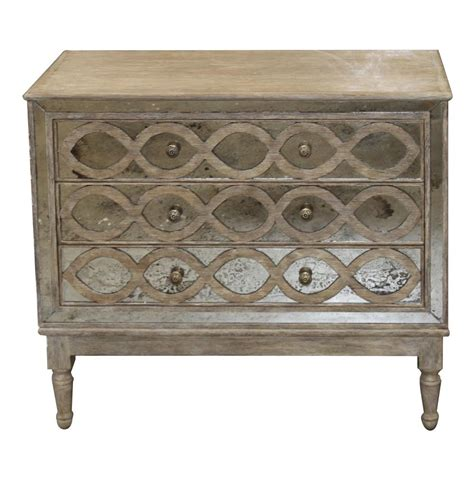 Dresser Chest by Ogee Country Distressed Antique Mirror Dresser Chest Kathy Kuo Home