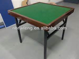 48 quot square mahjong table with folding steel leg buy
