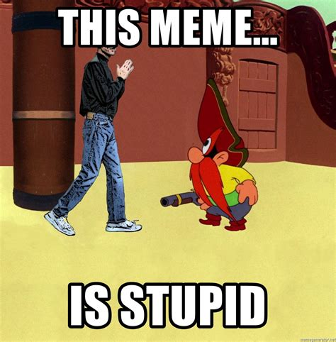 this meme is stupid os x meets yosemite sam meme