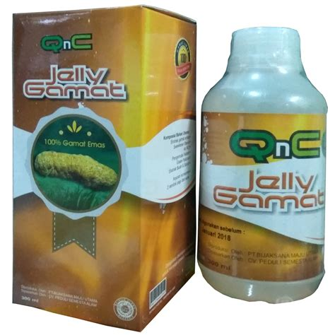 Qnc Jelly Gamat Di Surabaya qnc jelly gamat vs jelly gamat gold g vs bio jelly qnc