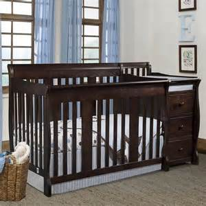 Storkcraft Portofino Convertible Crib And Changer Combo Espresso Stork Craft 4 In 1 Portofino Crib Changer Combo Review Best Baby Cribs Sale