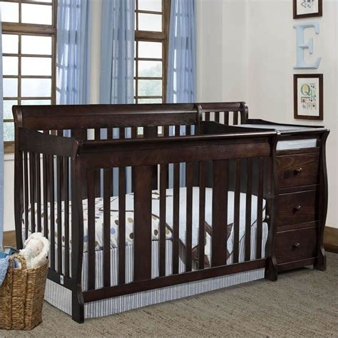 stork craft 4 in 1 portofino crib changer combo review