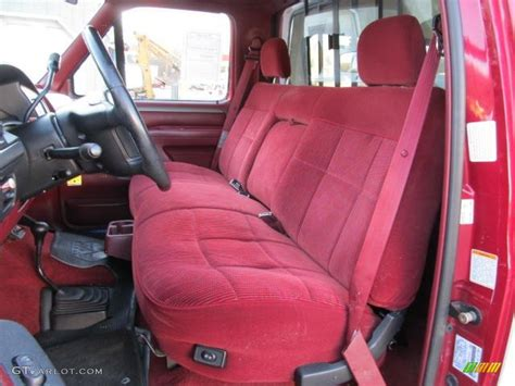 1995 ford f150 bench seat red interior 1995 ford f150 xlt regular cab 4x4 photo