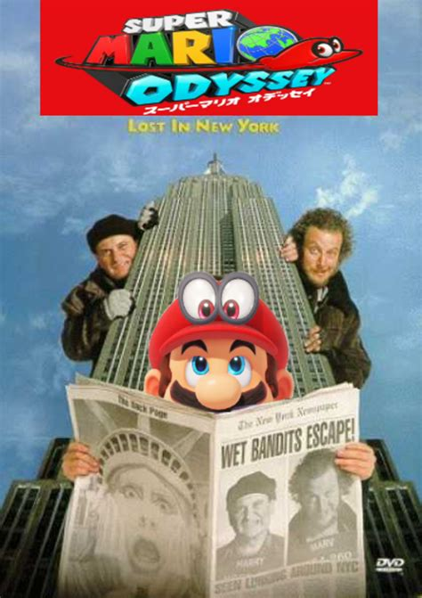 mario odyssey kingdom adventures vol 1 books lost in new york mario odyssey your meme