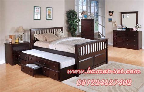 Gambar Dan Kasur Sorong Anak harga set tempat tidur sorong model terbaru murah