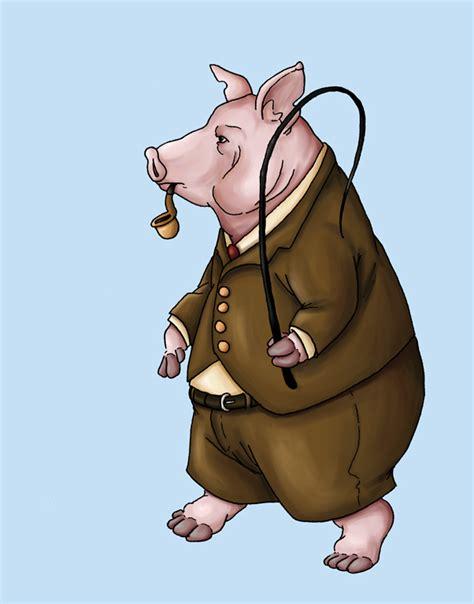 Animal Farm Pig animal farm pig 1 by ursusarctos on deviantart