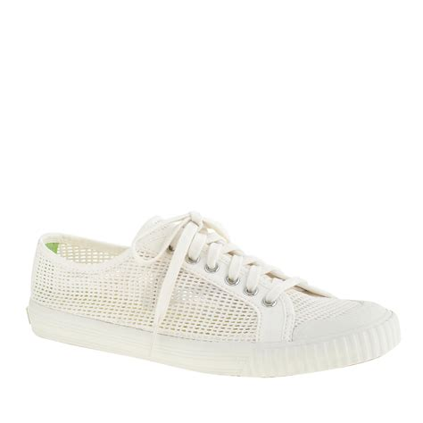tretorn sneakers womens j crew s tretorn tournament net sneakers in white lyst