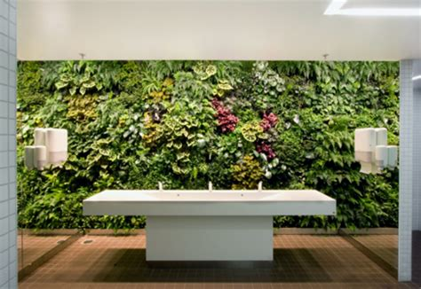 interior garden wall indoor wall stockholm international fairs by vertical