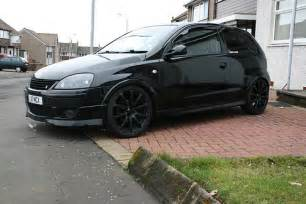 Vauxhall Modified Vauxhall Corsa Modified Black